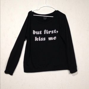 Young Romantics | Graphic Sweatshirt Black Large